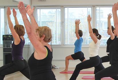 Fitness Badhoevedorp - Back in Shape biedt Yoga voor ieder niveau